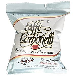 Caffè Carbonelli 100 Capsule Monodose, Decaffeinato - 1 Scatola