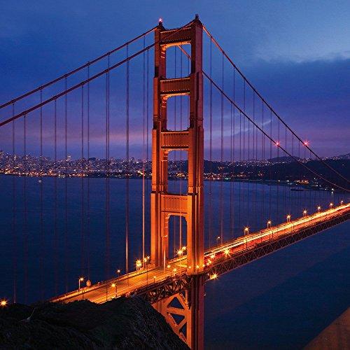 Apple iPhone 5s Housse Étui Protection Coque Pont du Golden Gate San Francisco Amérique Étui en cuir bleu marine