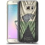 Officiel HBO Game Of Thrones Stark Drapeaux De Symbole Étui Coque en Gel molle pour Samsung Galaxy S7 edge