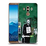Head Case Designs Offizielle Brandalised Work for Idiots Banksy Kunst Texturierte Ruckseite Hülle für Huawei Mate 10 Pro