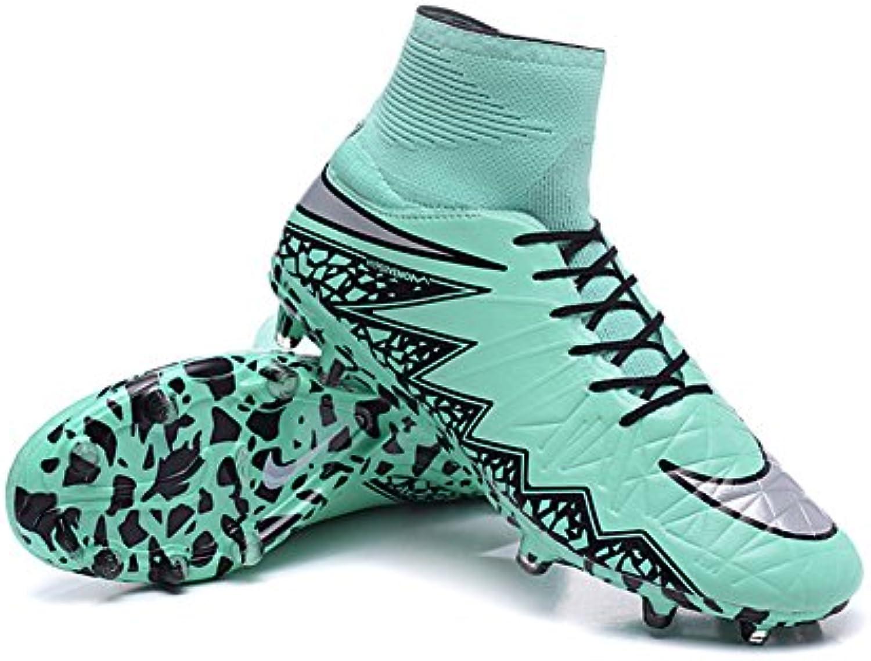 haovetre Schuhe Herren Hypervenom phantom II FG grün Fußball Stiefel