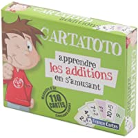 Fundels - Cartatoto Apprendre les Additions - Jeu de cartes Educatif
