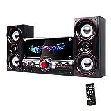 NFY en Bois Bluetooth Speaker système stéréo 3D avec subwoofers, Enceinte boîte...