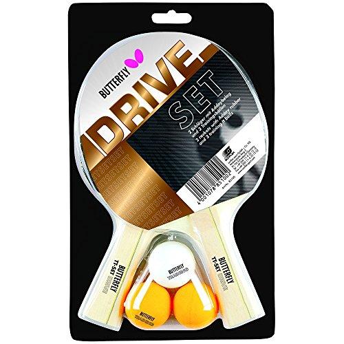 Butterfly Drive Tisch Tennis-Set-Mehrfarbig -