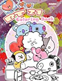 BT21 Coloring Book: BT21 Coloring Book for kids ages 4-8, With Premium Images (unofficial version)
