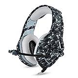 Leicht und bequem über dem Ohr Bequeme Protein Ohrpolster, Aktive Noise Cancelling Kopfhörer Bluetooth Kopfhörer mit Mikrofon Deep Bass Wireless Kopfhörer über Ohr, Gaming Headset Kopfhörer Wired E-Sp