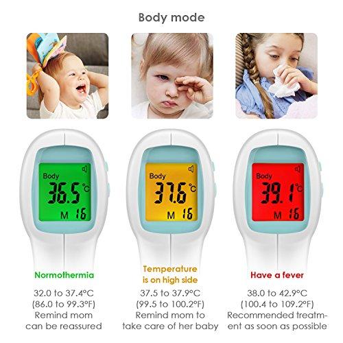 INTEY Infrarot Stirnthermometer - 4