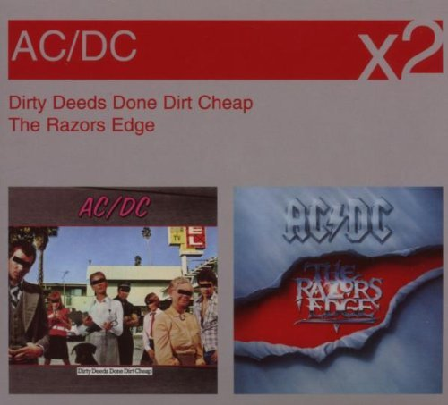 Dirty Deeds Done Dirt Cheap / The Razor's Edge by AC/DC
