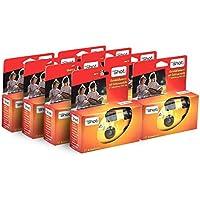 TopShot 400 Einwegkamera mit eingebautem Blitz (Paket mit 8 Kamera, 27 Bilder)