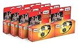 TopShot 400 cámaras desechables con flash integrado (paquete de 8 Cámara, 27 fotos)