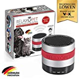 RelaxoPet Entspannungsgerät | Hund und Katze; Version 2.0 | Beruhigung durch Klangwellen | Ideal bei Gewitter, Feuerwerk oder auf Reisen | Hörbar und unhörbar | 5V, kabellos