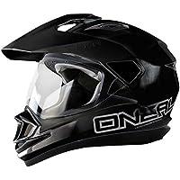 0201-102 - Oneal Tioga Solid Dual Sport Helmet S Black