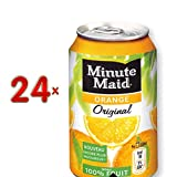 Minute Maid Orange Original 24 x 330 ml Dose (Orangensaft)
