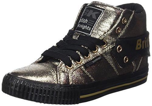 British Knights Roco, Sneaker a Collo Alto Donna Or (Bronze)