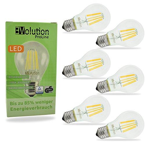 Evolution® E27 6W 700LM | Filamento LED