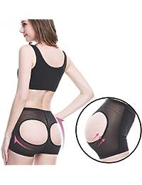 Alokie Mujeres Butt Lifter Shaper Bum Lift Pants Mejoras de las nalgas Boyshorts Booty Briefs