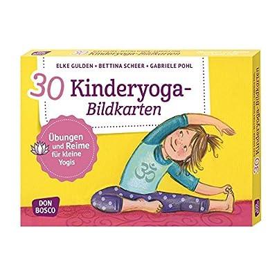 30 Kinderyoga-Bildkarten: Übungen und Reime für kleine Yogis