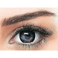 Bella Colored Snow White Cosmetic Contact Lenses - Satin Gray