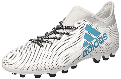 adidas X 17.3 Ag, Chaussures de Football Homme Blanc (Ftwbla/Azuene/Gritra)