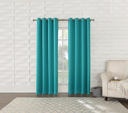 Sun Zero Barrow Energy Efficient Grommet Curtain