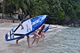 Zray Sup Fury 10'6' Stand up, Paddle, Planche, Surf, Board Adulte Unisexe, Bleu,...