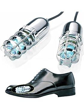 Ultravioleta (UV) zapatos sanitizers/Desodorizador esterilizador/Boot/Mata hongos para uñas (plata)