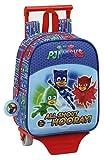Kindergartenrucksack Pjmasks - Offiziell - mit Trolley Safta
