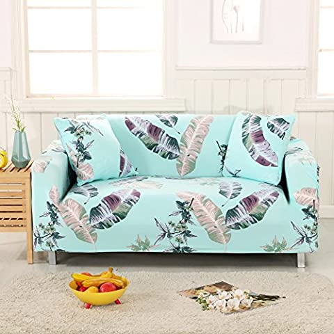 YUTIANHOME Sofa Slipcover Protector Cover, Printed Polyester Spandex Fabric Elastic