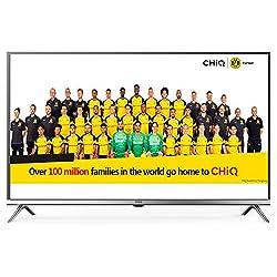 CHiQ L40D5T 40 Pouces (100cm) FHD LED téléviseur,Triple Tuner (1080p,DVB-T2/T/C/S2/S,CI+,HDMI,Lecteur multimédia Via USB) [Classe énergétique A+] Gris Metal