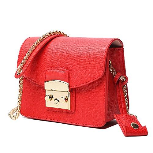 Sacchetto di spalla selvaggio della catena ,borsa mini lady square-A B