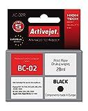 ActiveJet EXPACJACA0020 Tinte AC-02R Refill für Canon BC-02, schwarz