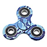 #8: Munchkin Land Multi Colur Fidget Spinner Focus Toy for Killing Time Stress Reducer Hand Spinners for Adults and Kids(Multi Colours) (Camouflage Blue)