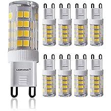 Lampaous - Bombillas LED G9 de doble pin (5 W, para bombillas de 40