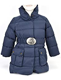 RALPH LAUREN JUNIOR GIRL PADDED JACKET BLUE NYLON CODE H30 JKT29 Y00LP 4499 2/2T (2 ANNI - 2 YEARS) BLU - BLUE