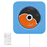 Best Portable Cd Player Bluetooths - VIFLYKOO Bluetooth CD Player Wall Mountable HiFi Speaker Review