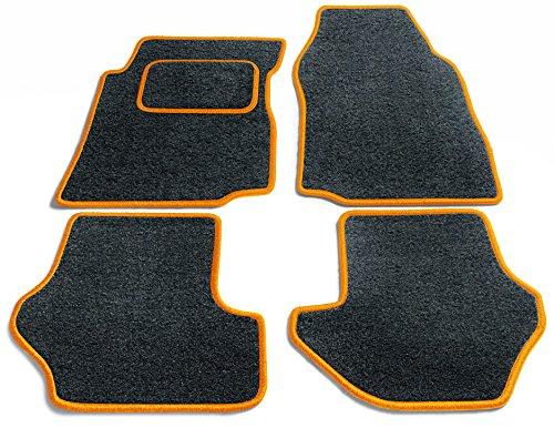 Preisvergleich Produktbild JediMats 60011-Pre-Orange-Anth Prestige Maßgeschneiderte Fußmatte für Ihr Auto, Anthrazit
