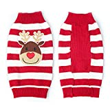 Espeedy Christmas Pet Sweater, Christmas Reindeer Pets Sweaters New Year Christmas Knitted Clothing for Small Dogs Cats