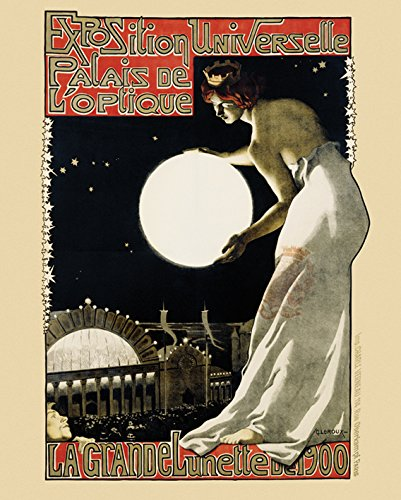 Die große Exposition Universal-WC 1900-40 x 51 Cm/Poster Poster - 1900-wc