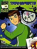 Ben 10 Alien Force - Transferts : Avec plus de 40 décalcomanies !