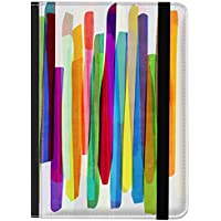 caseable - Funda para Kindle y Kindle Paperwhite, diseño Colourful Stripes 1