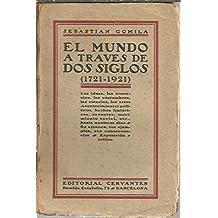 EL MUNDO A TRAVES DE DOS SIGLOS (1721-1921). LAS IDEAS, LAS CREENCIAS, LAS COSTUMBRES, LAS CIENCIAS, LAS ARTES. ACONTECIMIENTOS POLITICOS, HECHOS HISTORICOS, INVENTOS, MOVIMIENTO SOCIAL, ETC.