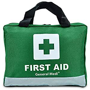 210 Piece First Aid Kit- Emergency kit - Reflective Design - Includes Eyewash, Ice(Cold) Pack,Moleskin Pad,CPR Face Mask and Emergency Blanket for Travel, Home, Office, Car, Camping, Workplace& Outdoor
