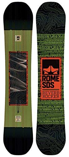 Rome SDS Herren Snowboard Allmountain Reverb Rocker Original (91) 155 (Rocker Reverb)