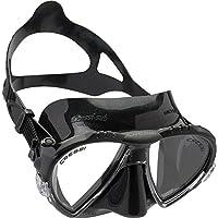 Cressi Matrix Soft Silicone High Quality Maschera per Immersioni, Apnea e Snorkeling, Unisex – Adulto, Nero