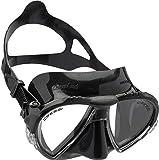 Cressi Unisex Ranger Tauchen Schnorcheln Maske,Schwarz,DS302050,one size