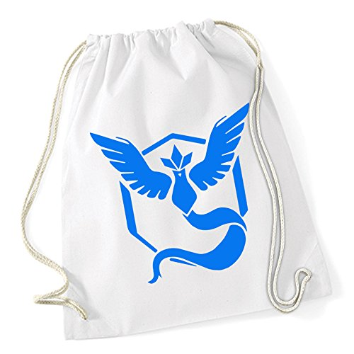 Team Mystic Sac De Gym Blanc Certified Freak