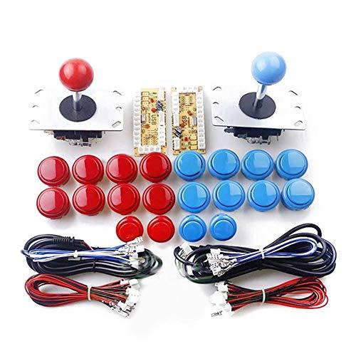 starter Joystick Buttons - Arcade DIY Kits Parts Joystick Set Botón de la  Consola del Juego USB Encoder para PC China Sanwa Joystick 20Pcs Botones