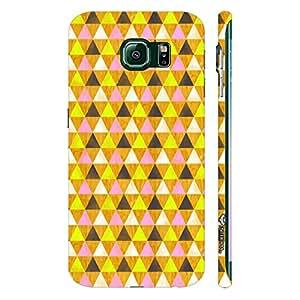 Samsung Galaxy Note5 Edge Hidden Hexagon designer mobile hard shell case by Enthopia