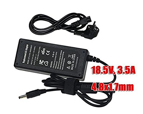 SUNYEAR 65W 18,5V 3,5A AC Adapter Chargeur pour HP Pavillion DV2000 DV4000 DV6000 DV1000 DV5000 DV6500 DV9000 DV6700 avec Câble de Charge