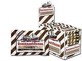 Fisherman's Friend Lakritz | Karton mit 24 Beuteln | Menthol und Lakritz Geschmack | Zuckerfrei für frischen Atem